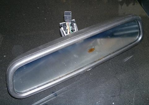 салонное зеркало заднего вида