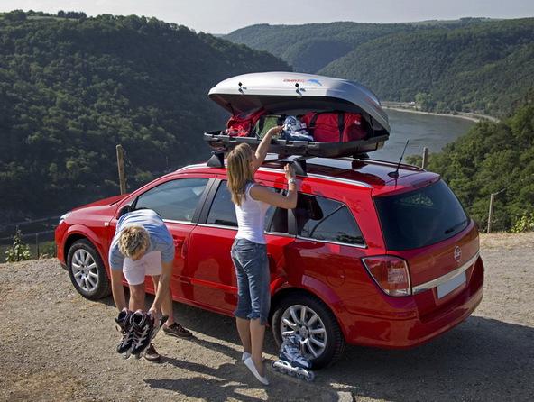 установка данного багажника на крышу ланос или приоры